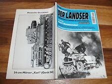 LANDSER GROßBAND 1095 -- KARL NEUMEISTER / Kommandeur Panzergrenadierregiment 1