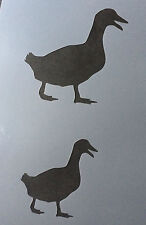 Duck Animal A4 Mylar Reusable Stencil Airbrush Painting Art Craft