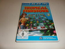 PC tropical fishstore (play it)