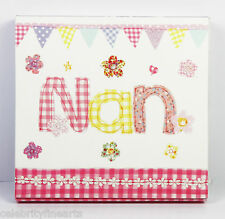 Nan Nanny Memo Pad Small Square Notebook Writing Jotting Paper Present Gift NEW