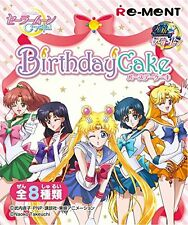 Sailor Moon Crystal Birthday Cake Figure Box Commodity 1box = 8 Pieces