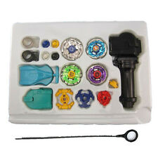 Fusion Top Metal Master Rapidity Fight Rare Beyblade 4D Launcher Grip Set Toy