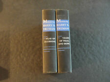 Memoirs by Harry S. Truman (HC, 2 Volumes, 1955, 1956)