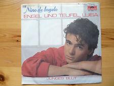 """Schallplatte Single 7""""  Engel und Teufel, Luisa   Nino de Angelo"""