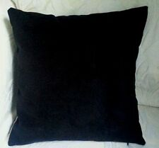 Scatter cushion cover lounge bedroom  Black Faux Suede 40,45cm,50x30cm