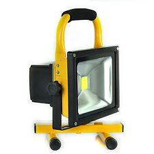 30W Portable Hi Power White LED Work Light Rechargeable Flood Light IP65 CAMP