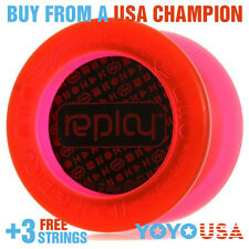 YoYoFactory Replay Responsive Beginner Yo-Yo - Red + FREE DVD + FREE STRINGS