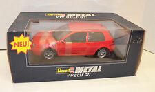"1997 REVELL 1:18 Scale Red VOLKSWAGEN ""VW"" GOLF GTI #08943 ~ Brand New!!!"