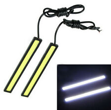 Waterproof 17cm COB Cool White Car LED Lights 12V for DRL Fog Light Driving lamp
