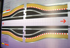 SCALEXTRIC C7015 DIGITAL PIT LANE ENTRANCE & EXIT TRACK 1/32 DIGITAL SLOT CAR