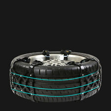 Car Off-Road SUV Safe Snow Tire Wheel Chain Anti-skid Belt Universal Black