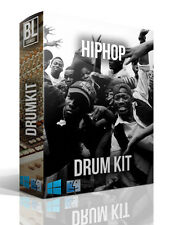 HIP HOP DRUM KIT BOOM BAP 808 FL LOGIC PRO REASON KONTAKT ABLETON 4,500 SAMPLES