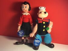 1970 POPEYE SAILOR MAN ACTION FIGURE 2282 OLIVE OYL OIL FEATURE SYNDICATE TOYS