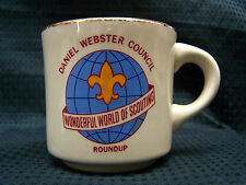 Daniel Webster Council Wounderful World of Scounting Roundup Mug