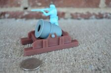 American Revolution Mortar Artillery 1/32 54MM Toy Soldiers Plastic