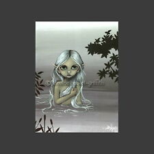 SILVERY BATHING NYMPH Print By Jasmine Becket-Griffith