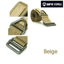 Hunting Military Outdoor Tactical Emergency Steel Buckle Rescue Nylon Belt