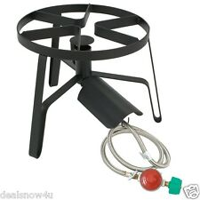 Classic Propane Gas Burner Single Homebrewing Outdoor Cooker Jet RV Camp Hiking