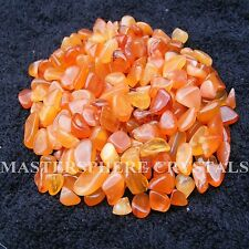 200 x Carnelian Tumblestones 6mm - 9mm Crystal Gemstone Wholesale Bulk