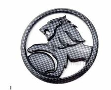 Holden Lion Grille Badge 95mm Carbon Fibre Commodore VE VF SS SSV SV6