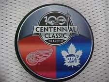 2017 NHL Detroit Red Wings v Toronto Maple Leafs 100 Centennial Classic Puck