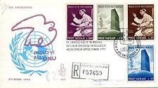 Vaticano 1965 FDC Venetia Club S.S. Paolo VI° all'O.N.U. Racc. (2° scelta)