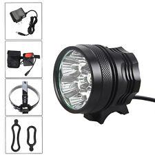 7XCREE XM-T6 LED 14000lm Phare avant lumière de Lampe Frontale headlamp Vélo VTT