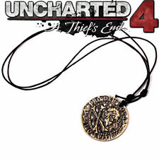 PS3/4 Game Uncharted 4: A Thief's End Metal Necklace Pendant Cosplay Jewelry New