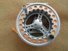 CUSTOM 7/8 WT. ALUMINUM-DISC DRAG  FLY REEL WITH WF-8-F LINE W /  LOOP END