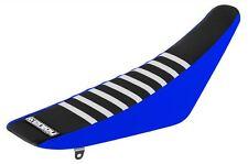 Disfrute De Yamaha Yz 85 2002 - 2014 Azul lados Top Negro Blanco costillas cubierta de asiento Motox