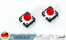 ! novedad! LED pulsador tactile button switch sonda rojo para Arduino Raspberry Pi