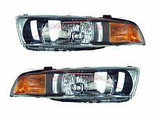 2002-2003 Mitsubishi Galant Head Lights Lamps Driver & Passenger Side LH+RH