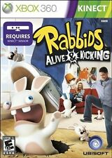 XBOX 360 RABBIDS ALIVE AND KICKING  BRAND NEW VIDEO GAME