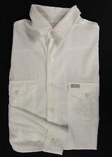 BLANC DU NIL Freizeit-Hemd Gr. M  weiß Shirt Camisa Chemise 100% Baumwolle