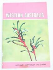 Western Australia 1967  By William King - Sticker Book  - Unpunched