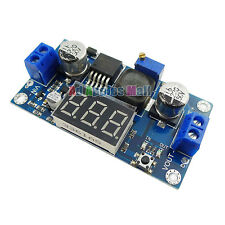 LM2596 Buck Step-down Power Converter Module DC 4.0-40 to 1.3-37V LED Voltmeter