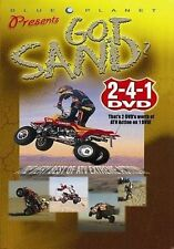 Got Sand? ATV (NEW/Sealed DVD) BLUE PLANET 2-4-1 DVD  12 dee