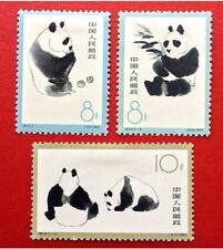 China Stamps S59 1963 Giant Panda Sc#708-710 Mint VLH CV:$150