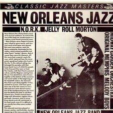 """12"""" N.O.R.K. Jelly Roll Morton New Orleans Jazz (Classic Jazz Masters)"""