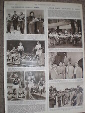 Photo article labour party Attlee and Bevan visit to China 1954 ref X3