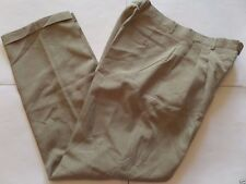 VICTORIO CUTURE Men's Pans Size-34x32 Relaxed Zipper Fly Gray Very Good!