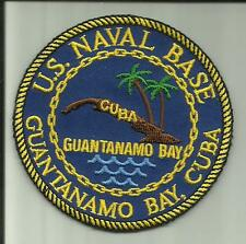 UNITED STATES NAVAL STATION GUANTANAMO BAY CUBA U.S.NAVY PATCH GITMO SOLDIER US