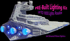 Star Destroyer Fibre Optic Lighting Kit - Star Wars Model LED Hobby Illuminator
