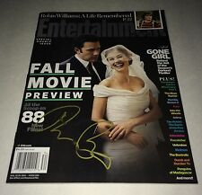 Rosamund Pike Hand Signed ENTERTAINMENT WEEKLY GONE GIRL IN PERSON Autograph