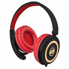 Cuffia RELOOP RHP-5 RHP5 CHERRY professionale per Dj iPod iPhone iPad Mp3 Mac Pc