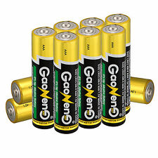 Hot 10pcs Energy AAA 3A Batterie Alcaline 1.5v Ingrosso Giocattolo Alimentatore