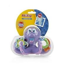 Nuby Octopus Hoopla Bath Tub Water Pool Toy Fine Motor Skills