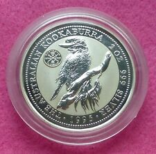 1995  KOOKABURRA 2oz JUBILEE 1951 FLORIN PRIVY MARK  SILVER PROOF $2 COIN
