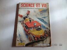 SCIENCE ET VIE  N°399 DEC 1950 JOUETS DES ENFANTS VOITURES DE 1951    J12