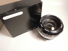 NIKON  NIPPON KOGAKU 55mm F1.2 come nuovo MINT imballi BOX BOXED OVP